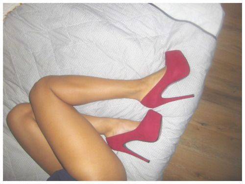 Sexy!: Cute Shoes, Fashion Style, Color, Gorgeous Heels, Beautiful, Outfit, Red Heels, High Heels, Red Pumps