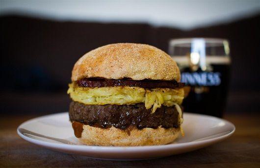 Jarred's Fightin' Irish Burger