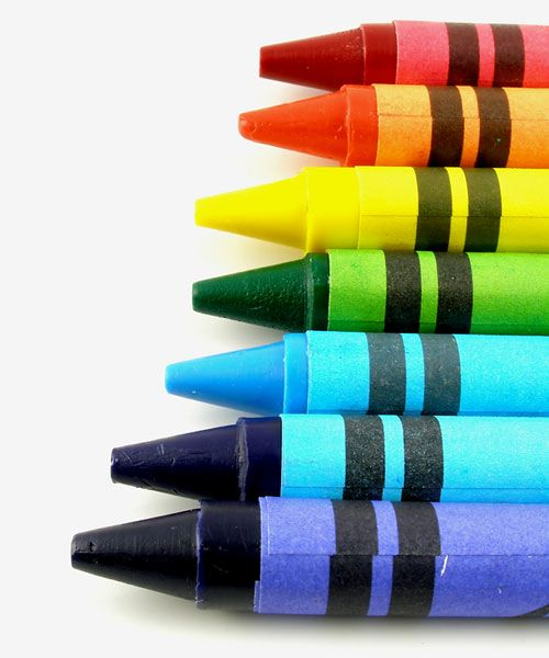 I Always Used To Line Up My Crayons In Rainbow Order