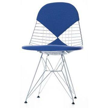 Silla wire chair dkr 2 de charles y ray eames editada por vitra sillas chairs pinterest - Eames kinderstuhl ...