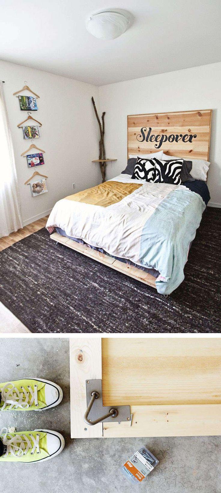 Außergewöhnliche betten selber bauen  Die besten 25+ Bett selber bauen Ideen auf Pinterest | Bett bauen ...
