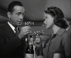 The Celluloid Pantry: Champagne and Casablanca (1942)
