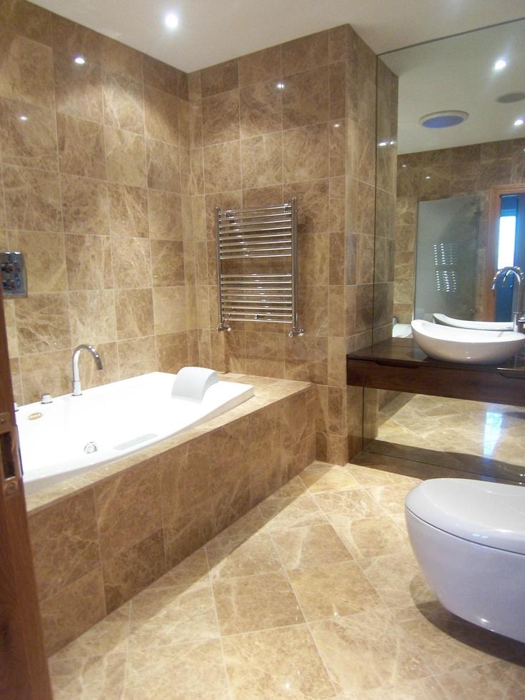 Beautiful NEW Marble bathroom