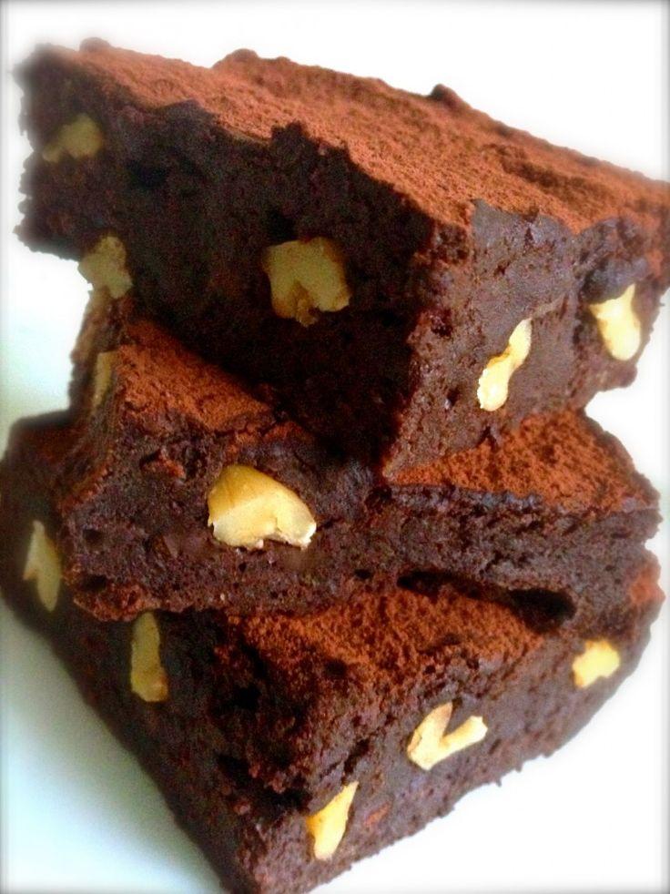 Cuecas na Cozinha – Blog de Gastronomia, Culinária e Dicas de Viagem Gourmet Brownie com Biomassa de Banana Verde