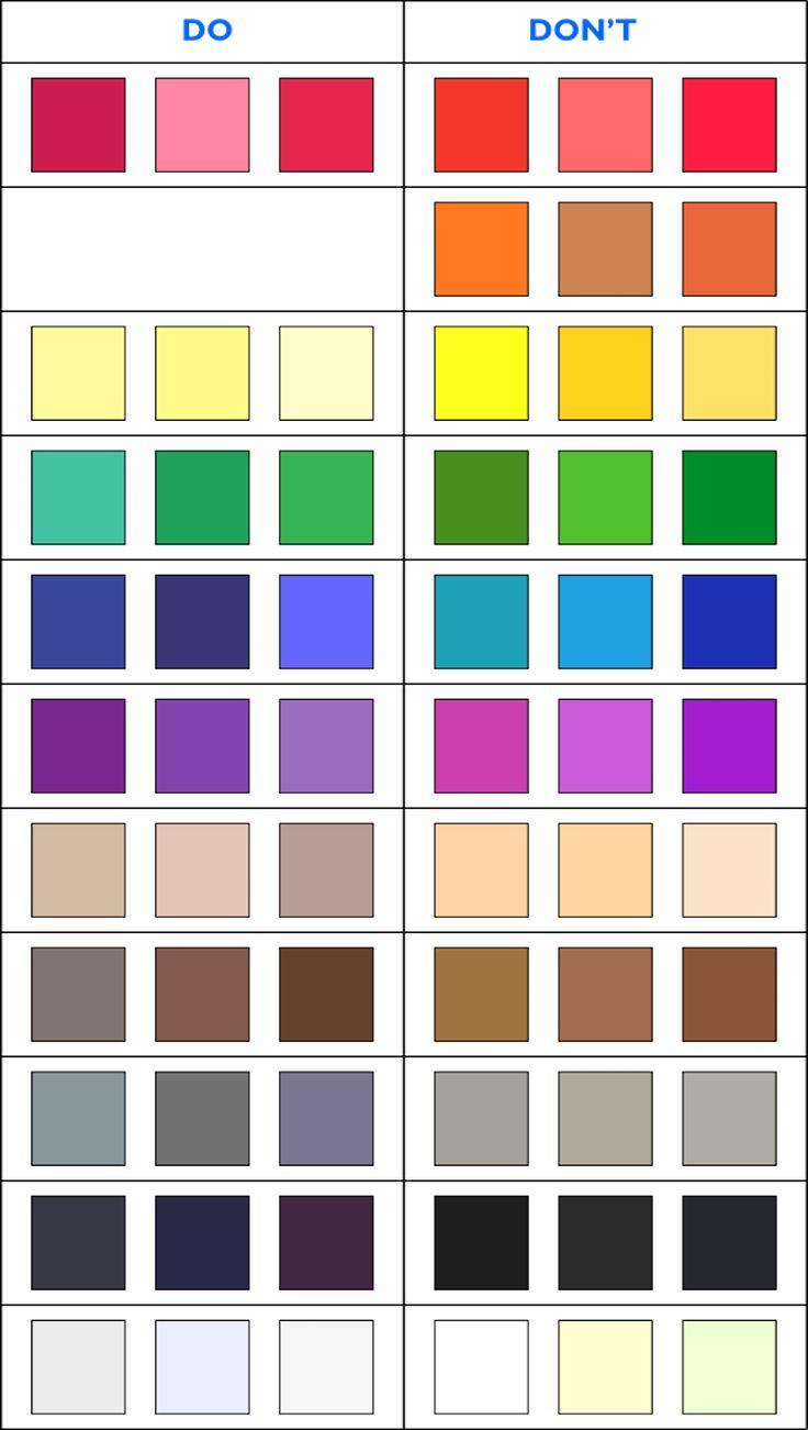 welche Farben passen zum Sommertyp und welche nicht