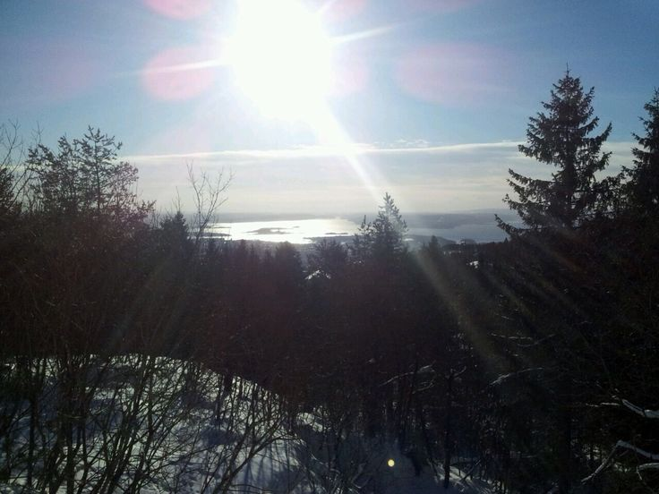 View from Frogneseteren over Oslo Fjord