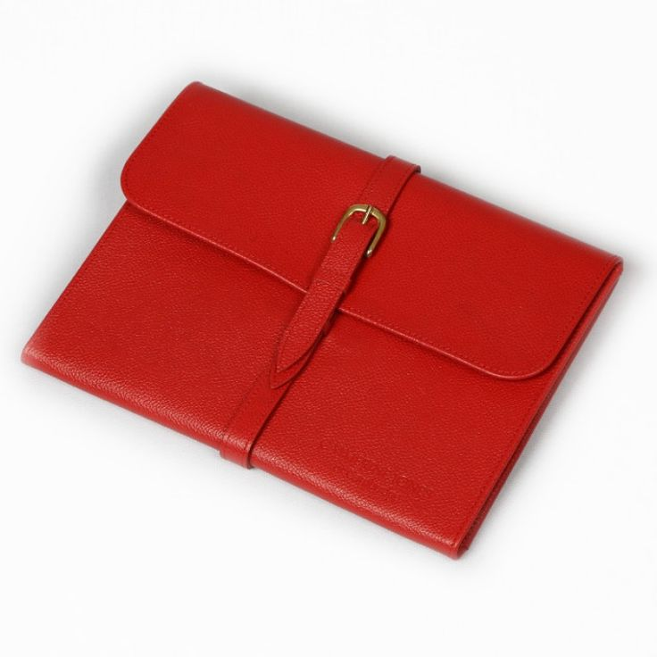 Our iPad cases are simple and elegant with a delicate, soft suede lining to hold and protect your device.