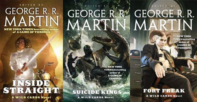 """George R.R. Martin Reveals a Wild Cards Series is in Development http://best-fotofilm.blogspot.com/2016/08/george-rr-martin-reveals-wild-cards.html  George R.R. Martin reveals a Wild Cards series is in development  """"Game of Thrones"""" author George R.R. Martin has revealed that NBCUniversal'sUniversal Cable Productions (UCP) has acquired the rights to the long-running Wild Cards series of anthologies and mosaic novels for television. Development will begin immediately on what they hope will…"""
