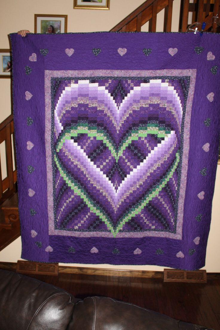 82 Best Purple Quilts Images On Pinterest
