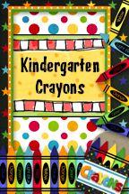 Kindergarten Crayons: Great Blog!!