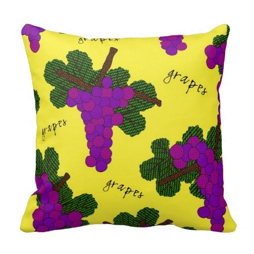 Groovy Grape Pillow