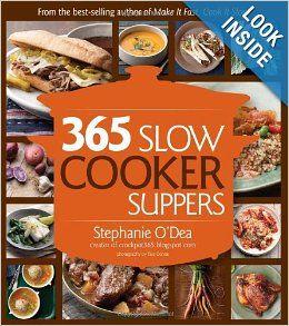 365 Slow Cooker Recipes by Srephanie O'Dea