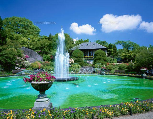 箱根強羅公園の噴水 箱根町