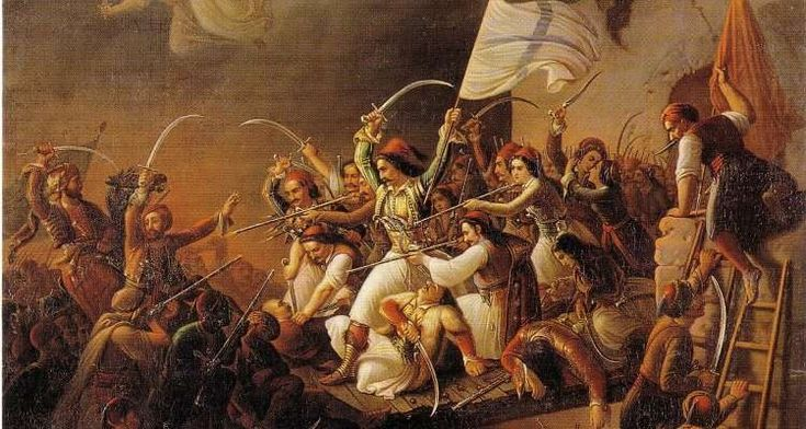 Δημιουργία - Επικοινωνία: 25η Μαρτίου: Το χρονικό της ελληνικής επανάστασης ...