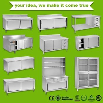 Stainless steel Kitchen cabinet wholesale price