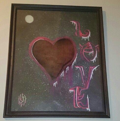 Love,lamina din a3 enmarcado