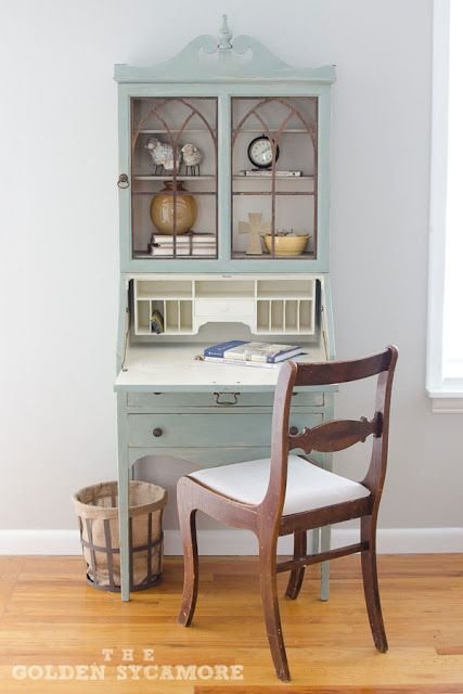 Secretary from Furniture Feature Friday – Favorites & a Link Party painted with ASCP
