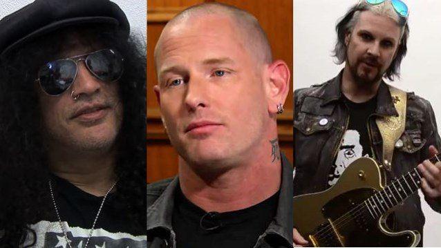 SLASH, COREY TAYLOR, JOHN 5 Added To METALLICA Guitarist KIRK HAMMETT's FEAR FESTEVIL