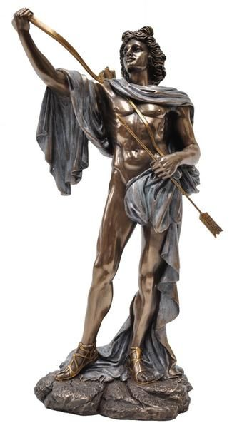 Apollo Greek God Sun Music Prophecy Poetry Male Veronese Statue Figuri – Hekate Fantasy Giftware and Art