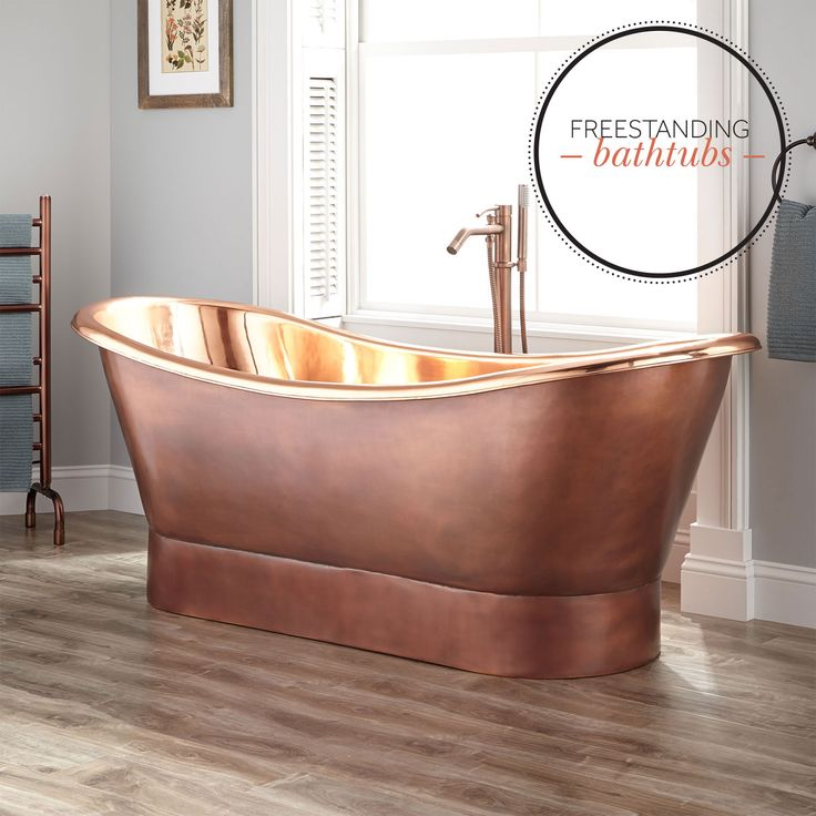 best material for freestanding tub. If you are considering a freestanding  soaking tub for master bath should understand the sizes styles and materials available to 342 best Master Bathroom images on Pinterest bathrooms