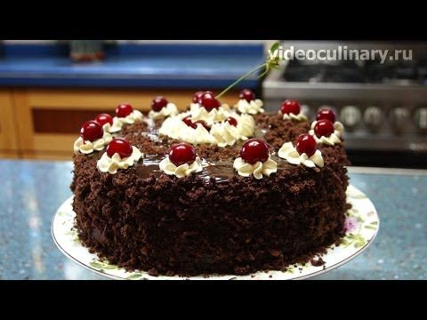 Торт Пьяная вишня – Лучший рецепт Бабушки Эммы