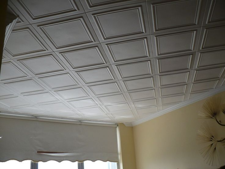 110 Best Decorative White Ceiling Tiles Images On