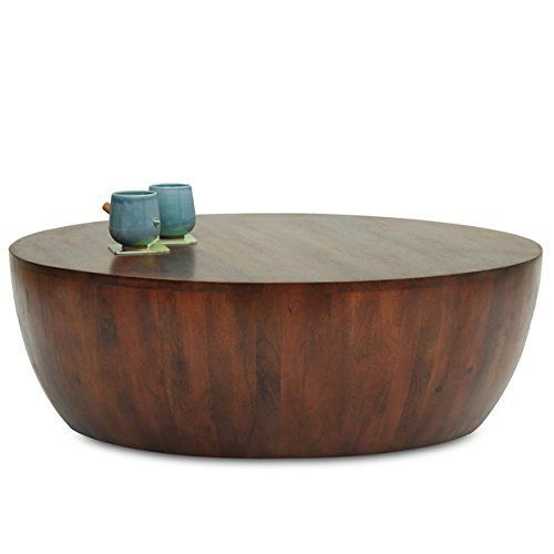 Altavista Perk Solid Wood Coffee Table (Brown)