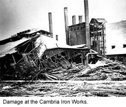 History of the Johnstown Flood, Pa