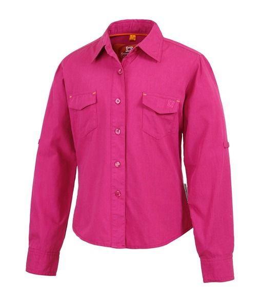 A classic long sleeved shirt for kids. The Girls Mindil top from Gondwana is made of 50% bamboo and 50% cotton making it lightweight, breathable, soft to touch and antibacterial. Good on your child's skin, good for the planet.