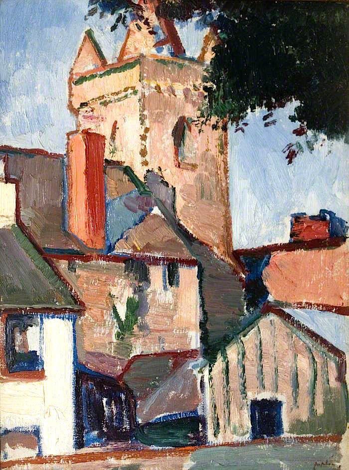 The Athenaeum - PEPLOE, Samuel John Scottish (1871-1935)_The Tolbooth, Kirkcudbright