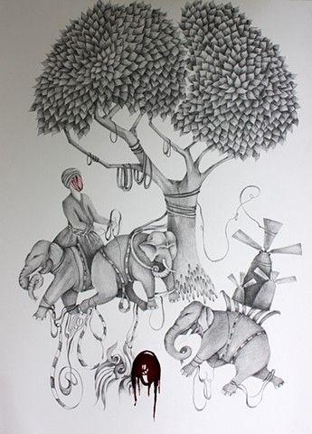 Shiva Ahmadi - Untitled