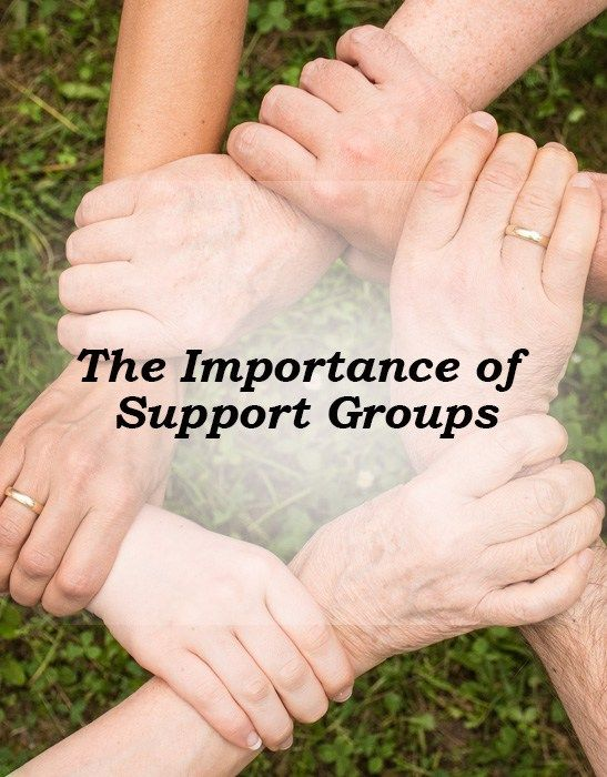 The importance of support groups