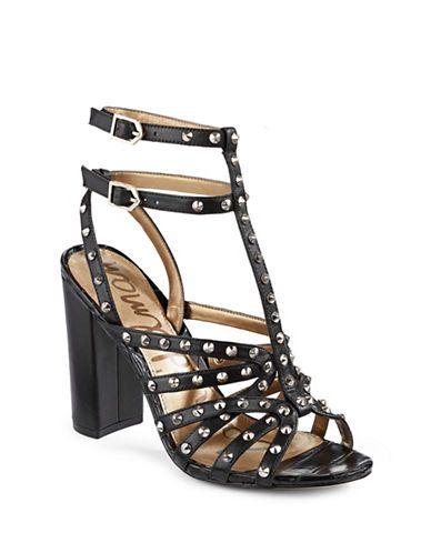 Chaussures | Chaussures | Sandales cloutées Yadira en cuir | La Baie D'Hudson
