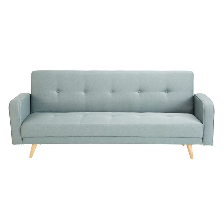Ausziehbares 3-Sitzer-Sofa, wassergrün   Maisons du Monde
