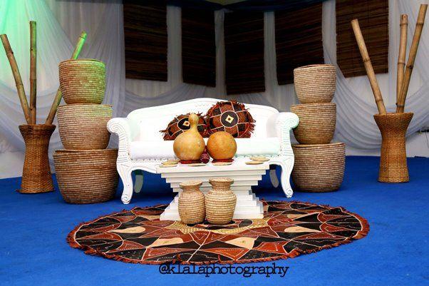 Nigerian Traditional Decor Klala Photography LoveweddingsNG