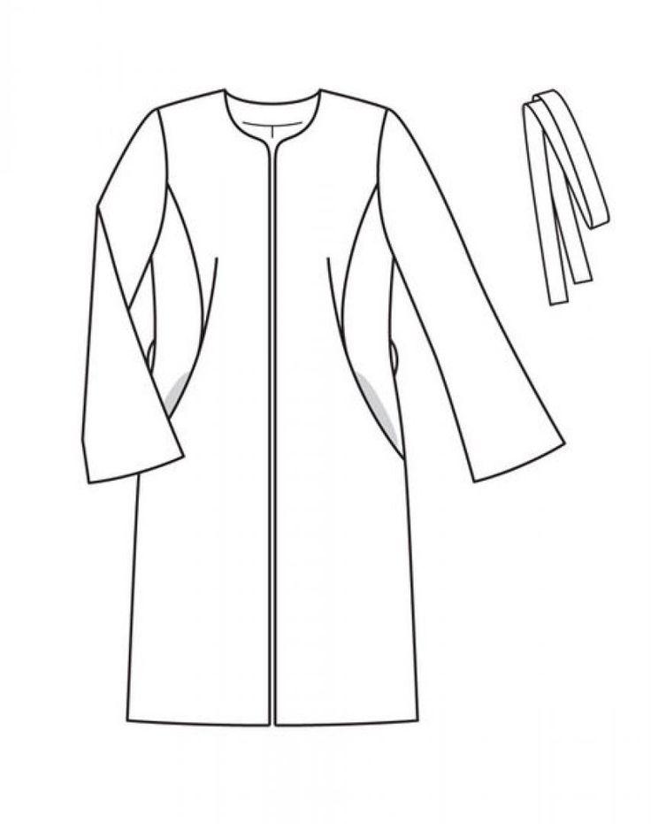 Пальто: Burda 12/ 2012/ 117 / Burdastyle