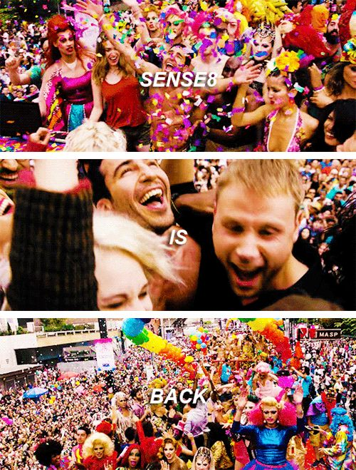 It's happening. 2 hour finale episode. Tell your cluster. #sense8
