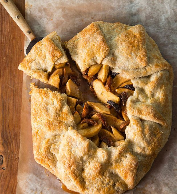 Get 3 naturally-based recipes fromThe Moosewood Restaurant Table, including Apple & Fig Galette With Rosemary, on our website now! | Photographer: Al Karevy
