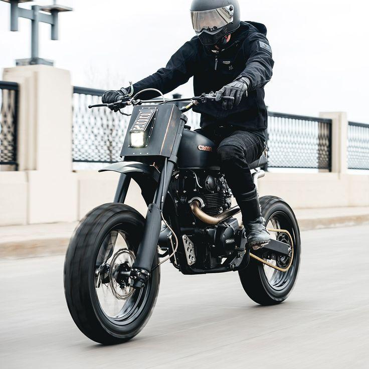 Gentil Behind The Scenes: Cafe Racers Of Instagram. Tracker MotorcycleMotorcycle  ...
