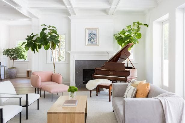 Top Living Room Colors And Paint Ideas Hgtv 46 White Room Decorating Ideas How To Use White Wall Paint Home Living Room Color Room Colors Living Room Colors