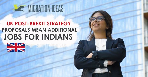 Ukpostbrexit Strategy Proposals Mean Additional Jobsforindians