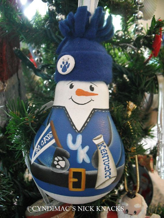 $22.00 free shipping - University of Kentucky Wildcats OR YOUR by CyndiMacsNickKnacks