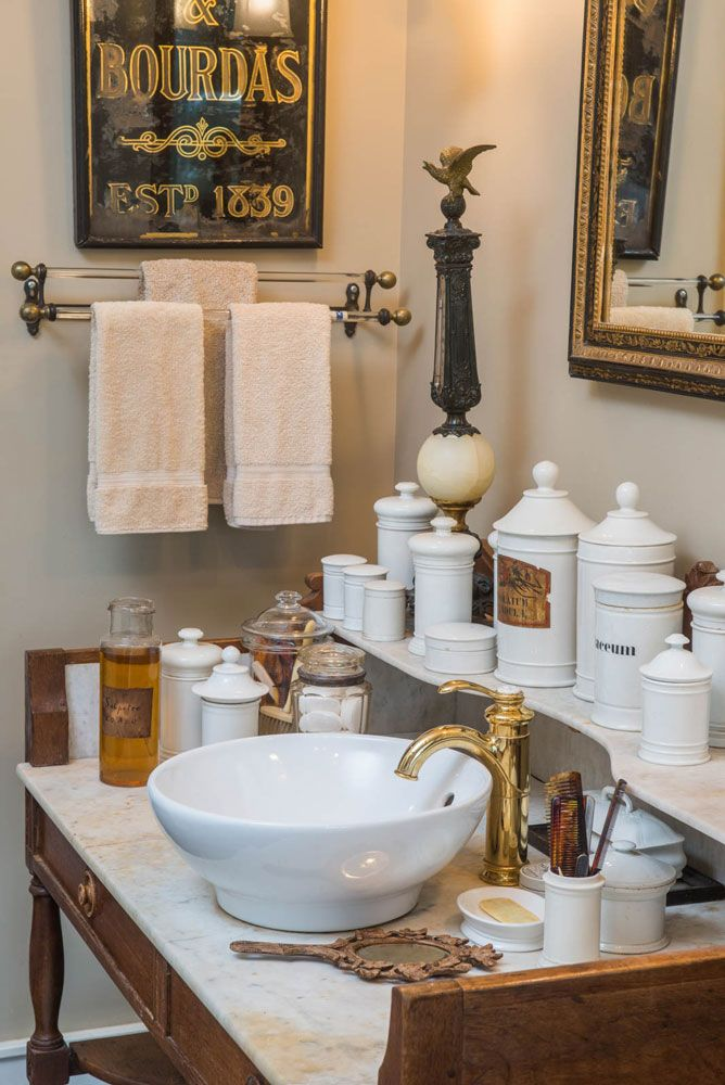 Collections Sharing The Passion Evergreen Decorators Authors Of Inspiring Home Decor Books Include Apothecary Bathroom Apothecary Decor Bathroom Cabinetry