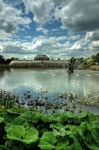 Kew gardens - visited many years ago - a coach trip from Brighton - these delightful gardens during the day then watched David Essex at the BBC Television Centre in the evening