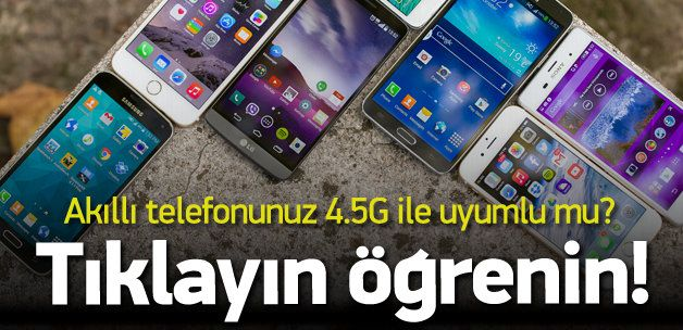 4.5 G'ye uyumlu akıllı telefon modelleri hangileri? 3G devrinin sona ermesine artık çok az kaldı. 1 nisan'dan itibaren 4.5 G'ye geçiyoruz. Herkes aradaki far