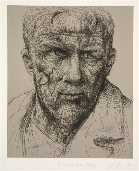 A stunning print by the brilliant Peter Howson.