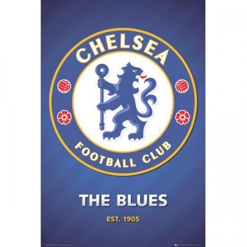SoccerGaga.com - OFFICIAL Chelsea F.C. Poster Crest 43, $18.99 (http://www.soccergaga.com/chelsea-f-c-poster-crest-43/)