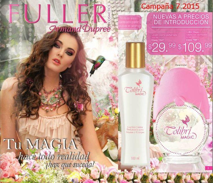 Catalogo de Fuller Cosmetics Campaña 7 2015 Mexico