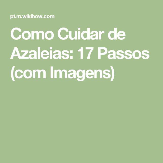 Como Cuidar de Azaleias: 17 Passos (com Imagens)