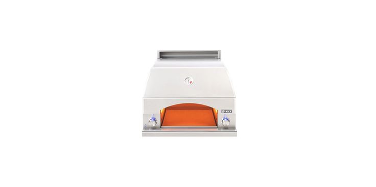 Lynx Grills LPZA LP 15000 BTU 30 Inch Built-In Liquid Propane Pizza Oven with L Stainless Steel Outdoor Pizza Oven Built-In